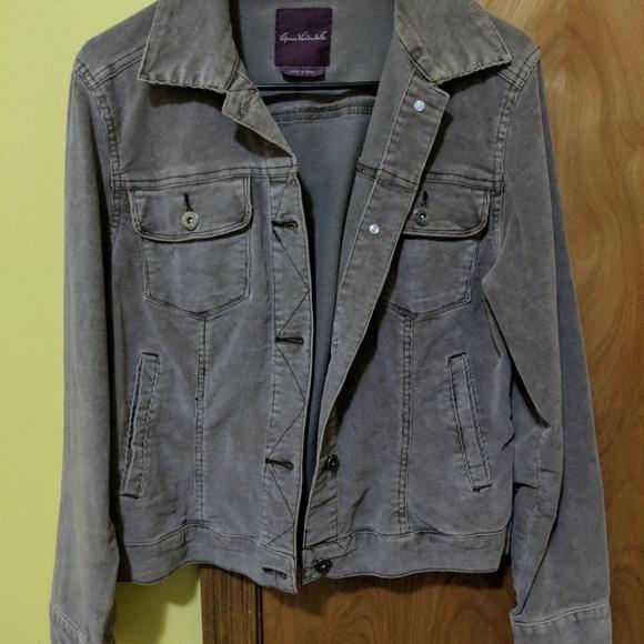 f2dcf7926 Gloria Vanderbilt Jackets & Coats | Corduroy Coat | Poshmark